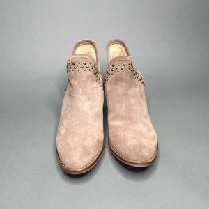 Lucky Brand Studded Suede Kengy Booties 10